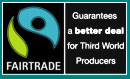 Fair trade guarantees a better deal for third world producers